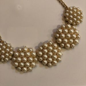 Jewelry - Faux Pearl Statement Necklace NWOT